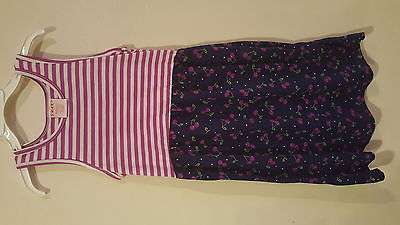 Girls Summer Cherry Print Dress Sz 4