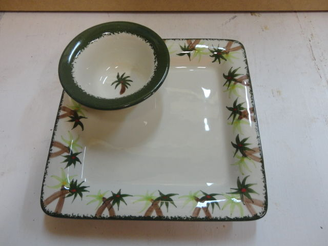 Cali Chip and Dip Platter Tray Serving Dish