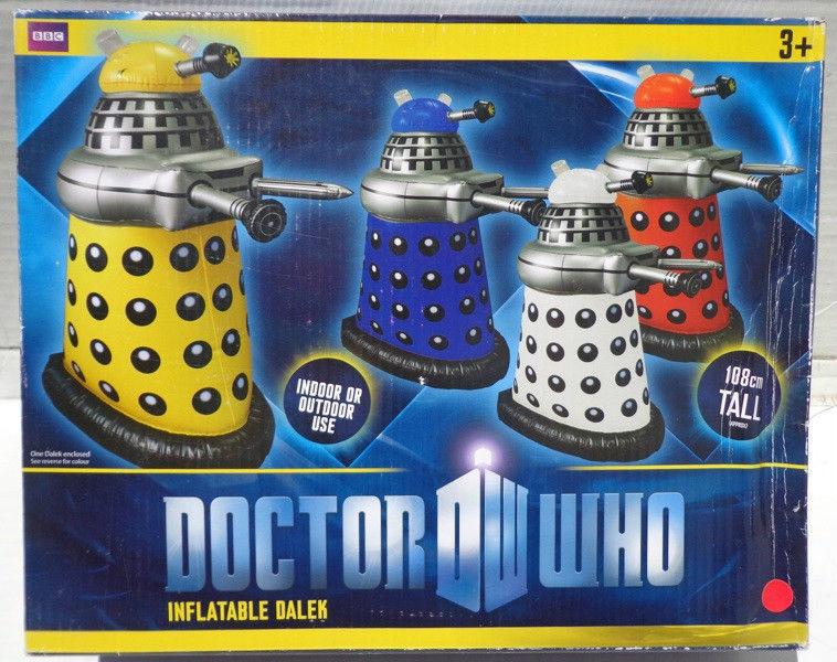 Doctor Who Inflatable Dalek (Red) H. Grossman Ltd
