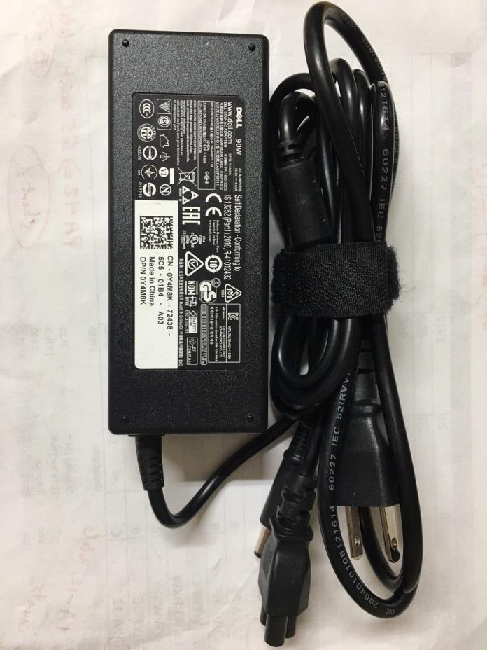 Genuine Original Dell 90W 90 Watt AC Adapter Power Charger PA-10 PA-3E