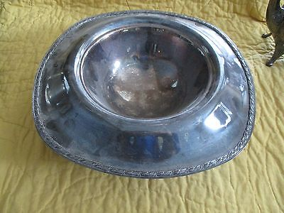 wm rogers silverplate bowl