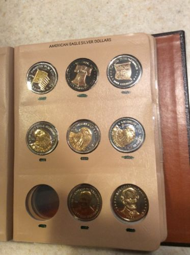 Group Of Commemorative Coins 1984 1985 1986