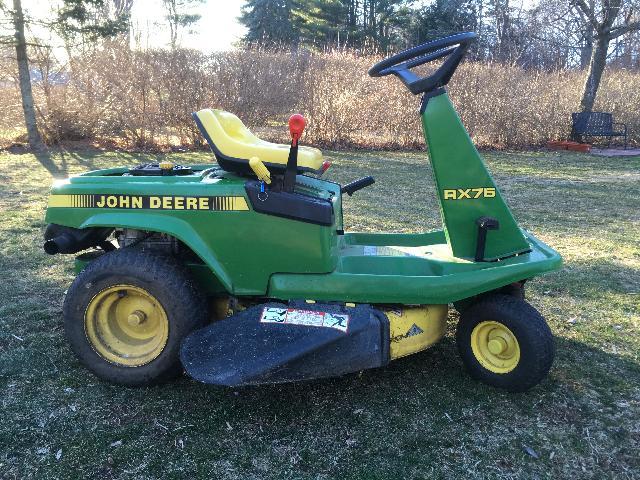 John Deere Rx75 Riding Mower