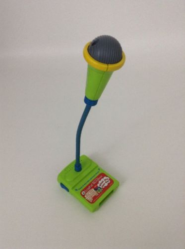 Leap Frog REPLACEMENT Microphone Record & Play The Amazing Big Top Letter Circus