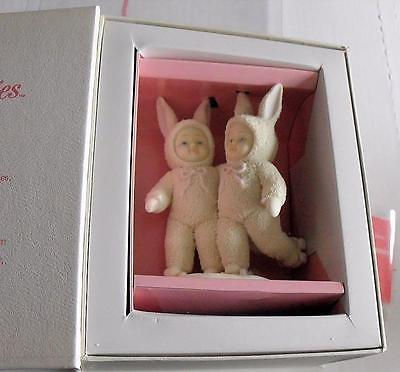 Dept 56 Snowbunnies Brand New Pair Rollerskates Figurine Never Removed From Box