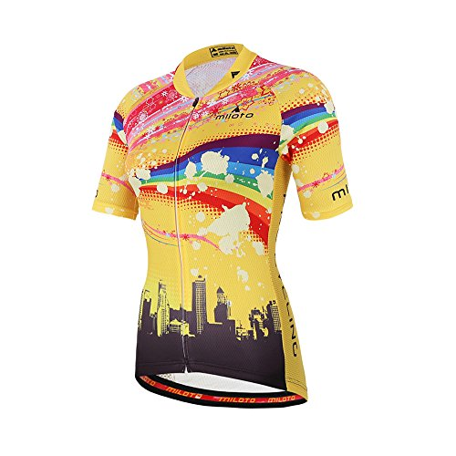 Uriah Women's Polyester Cycling Jersey Short Sleeve