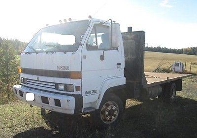 1992 ISUZU NPR Flatbed Trucks