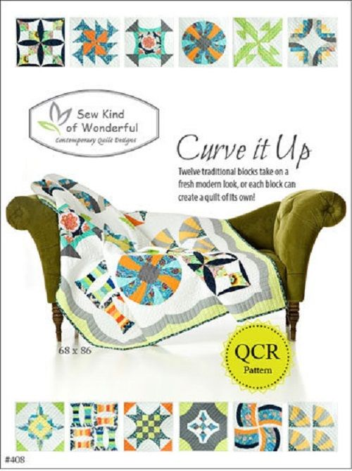 QCR - Curve It Up, Sew Kind of Wonderful