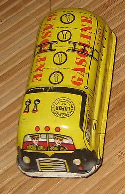 Vintage Tin Litho Lupor Gasoline Friction Car