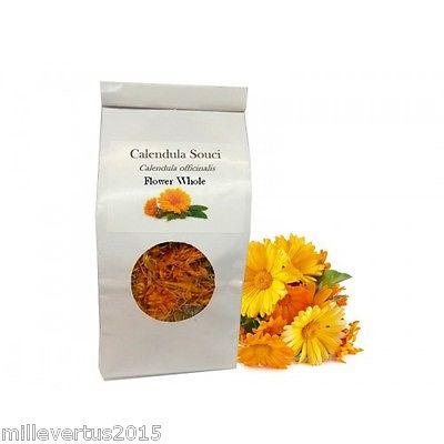 Calendula Dried Flowers Whole 50g