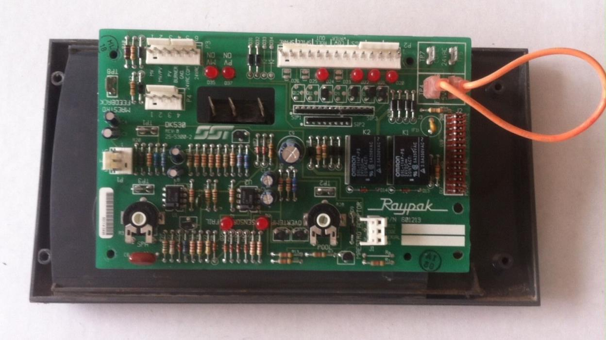 RAYPACK PC Control Board 601213 for RP 2100 Pool Heater OEM LOWEST PRICE ! Used