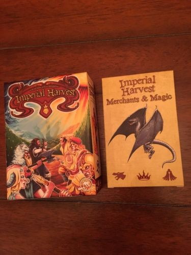 Imperial Harvest Kickstarter Edition With Promos & Merchants Magic Expansion