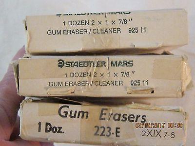 Staedler Mars Gum Erasers 2 X 1 X 7/8