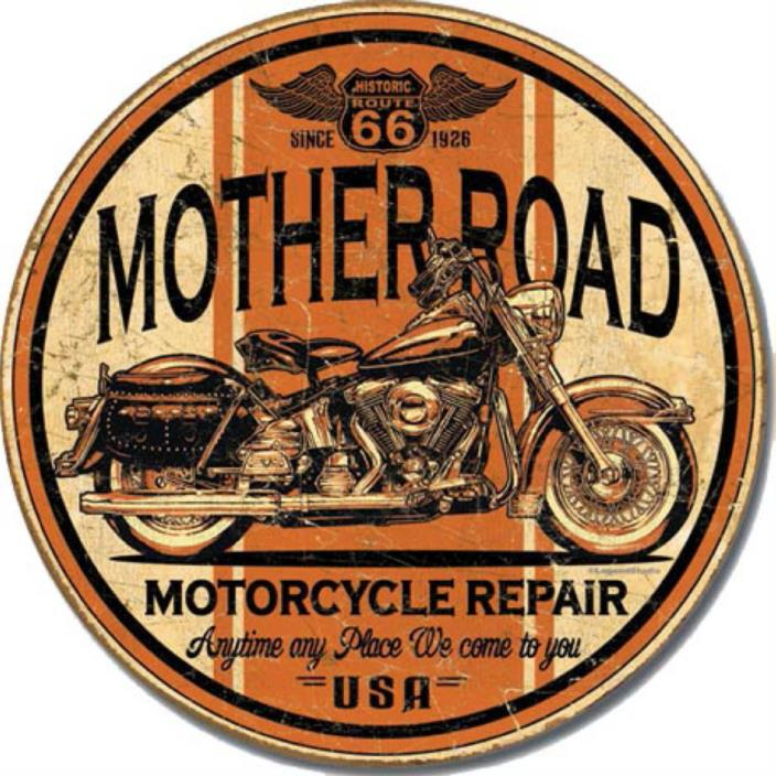 Mother Road Repair - Round   11.75