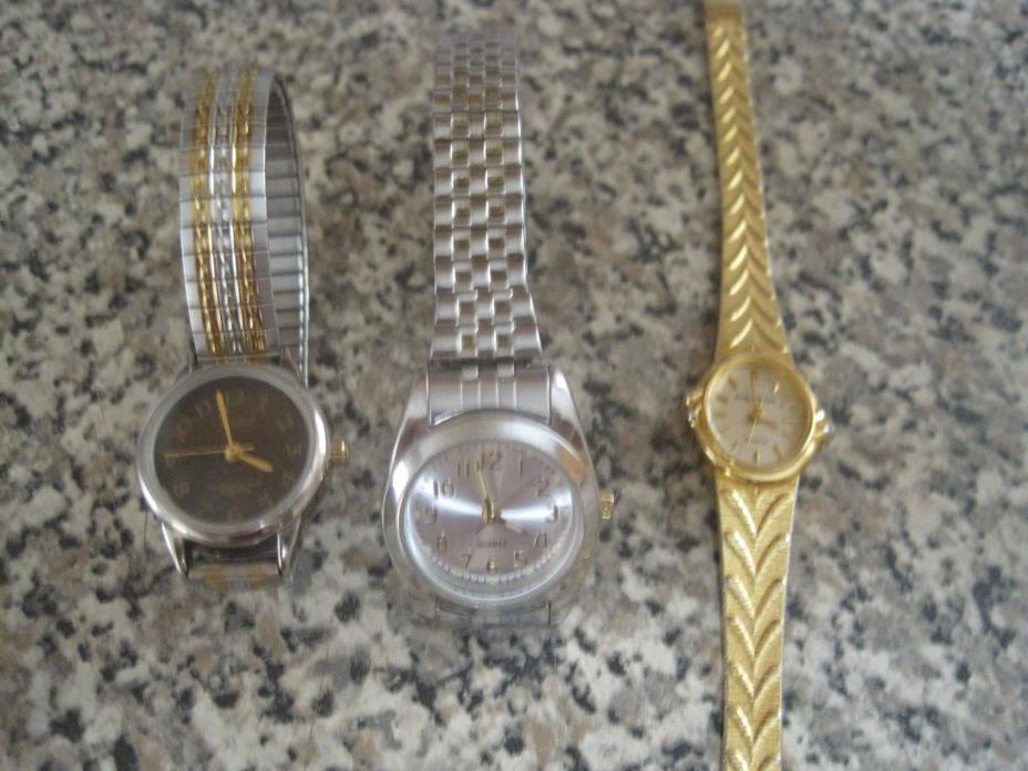 Women's watches lot of 3