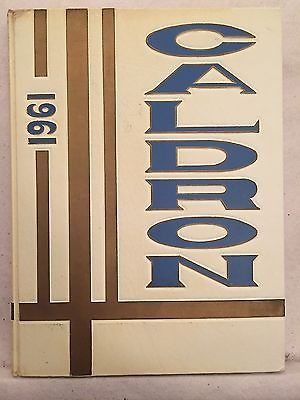 1961 Central High School Annual Yearbook Fort Wayne Indiana Ft Wayne IN