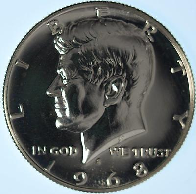 1968 KENNEDY HALF, EXTRA SUPERB GEM PROOF, BEAUTIFUL HIGH END COIN, SHIMMERING!