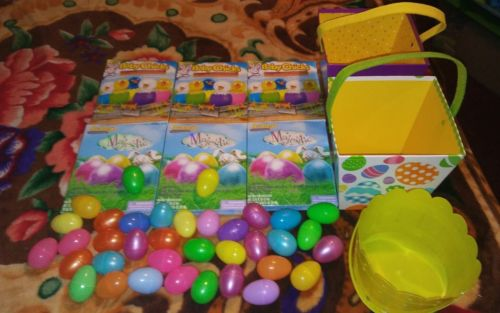 easter baskets, egg kits and plastic eggs--New