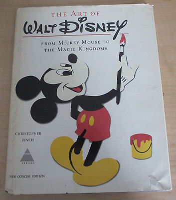 1975 Art of Walt Disney Hardcover Book w/ Jacket- Mickey Mouse to Magic Kingdoms