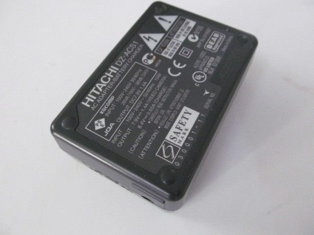 Genuine HITACHI AC/DC Adapter DZ-ACS1 7.9V 1.4A For VDR-M95 DZ-HD90 BD70 BD7H