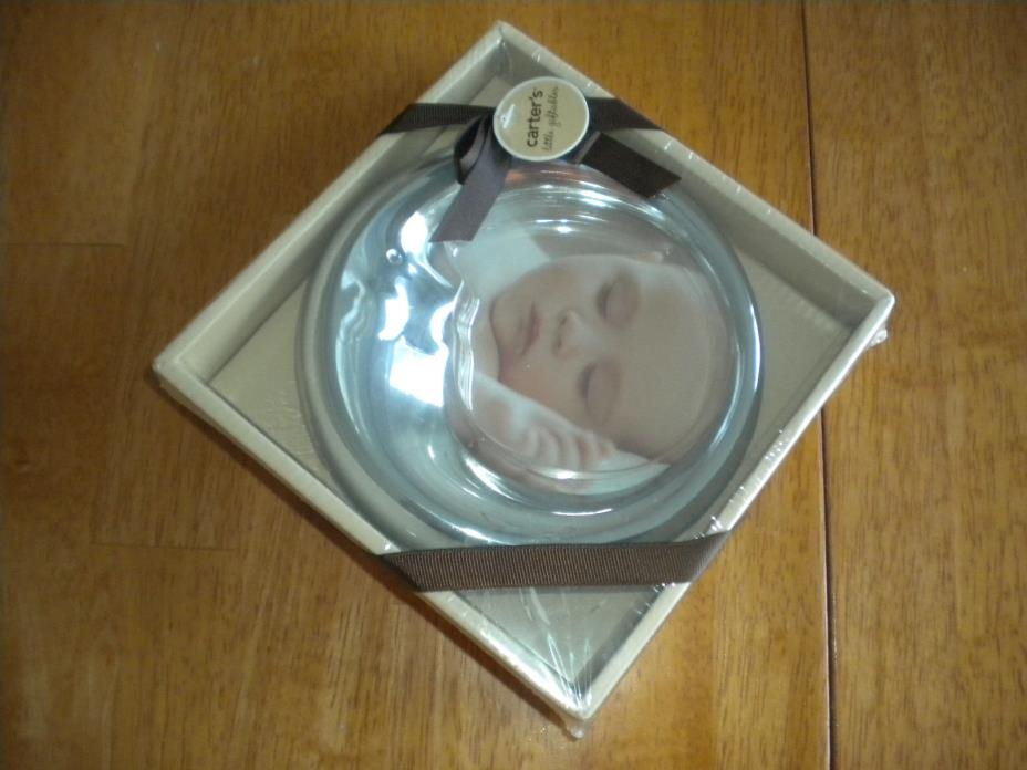 Carter's Little Giftables Smiley, Happy 1/2 Moon Picture Frame (NEW)