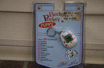 Electronic Pocket Pets Puppy - VINTAGE 1997