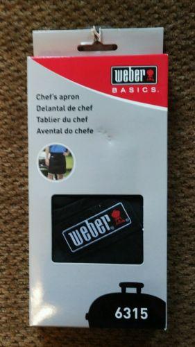 weber chefs apron 6315