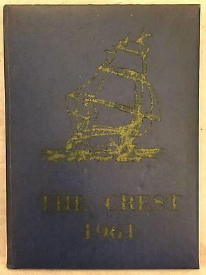 1961 Falmouth High School Annual Yearbook Maine ME