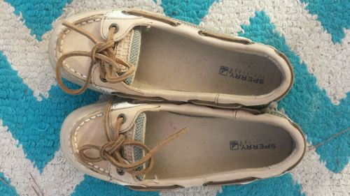 SPERRY TOP SIDER Shoes Leather Size 1