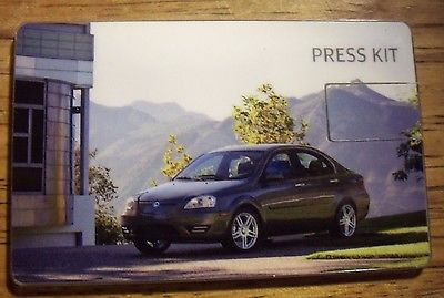 2012 Coda Electric Car USB Press Kit