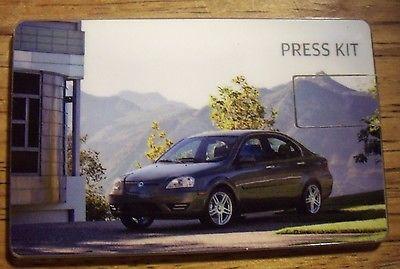 2012 Coda Electric Car USB Press Kit