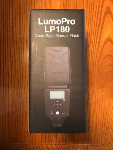 Lumopro LP180 Hotshoe Flash Strobe strobist