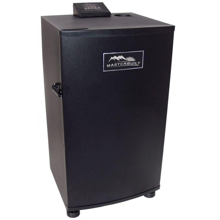 Electric Meat Smoker Original Barbeque 4-Rack Electric Outdoor BBQ Fish Poultry