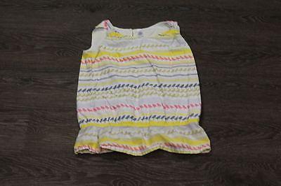Gap Kids Girls Tank Top XL Birds Cinched Waist Yellow Blue Pink