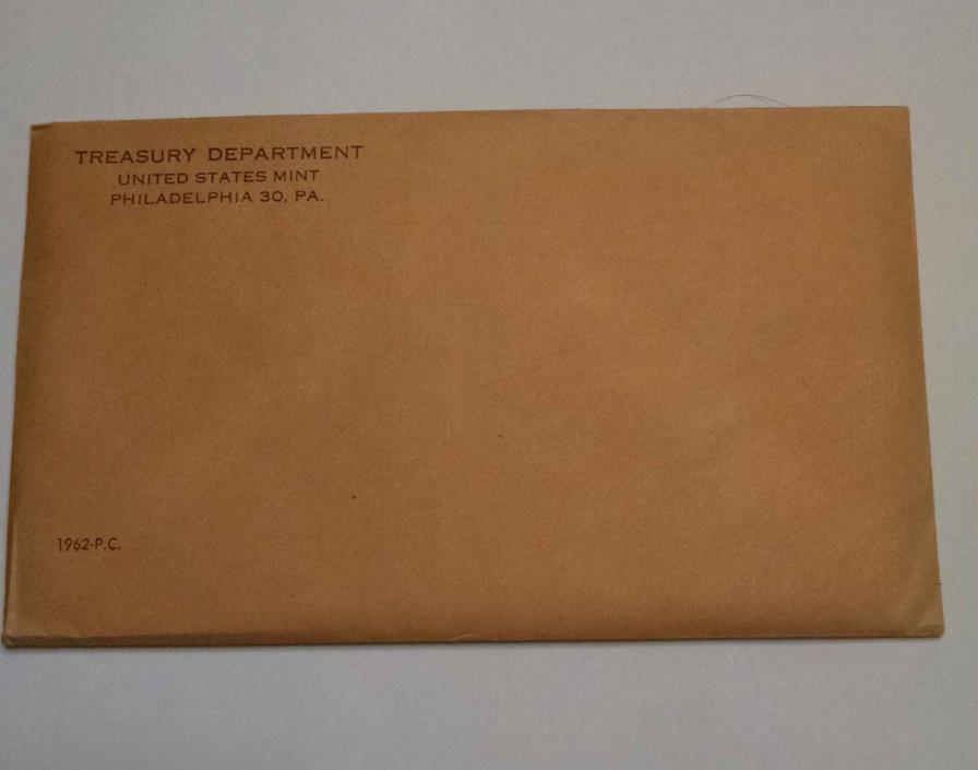 1962 Philadelphia US Mint Proof Set Unopened