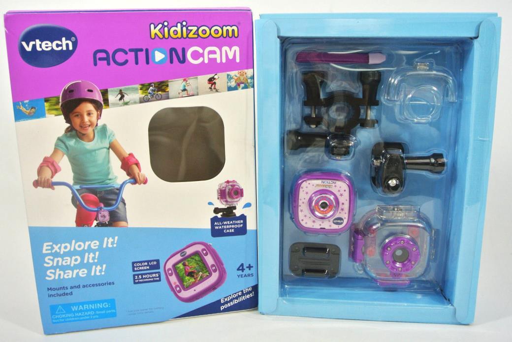VTech KIDIZOOM ActionCam Waterproof Camera - Purple