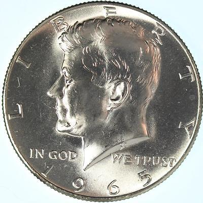 1965 KENNEDY HALF, HIGH MINT STATE GRADE, BEAUTIFUL HIGH END COIN, SHIMMERING!