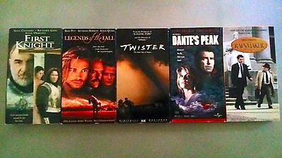 Lot of 5, 1990's VHS Movies, 5 for $5! Drama, and Action Movies, Collectables