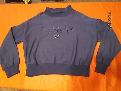 WOMEN,SMALL,NFL,DALLAS,COWBOYS,SWEATSHIRT,EMBROIDERED,MADE IN USA,FOOTBALL,JR