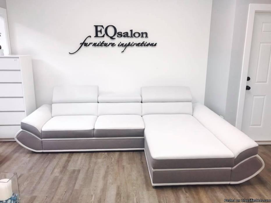New Modern Sofa with Sleeping Area