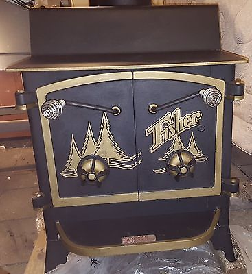 Fisher Grandma Bear III UL Listed Wood Stove ~ Fisher WoodStove
