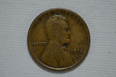 1914-D Lincoln Wheat Cent (cn2094)