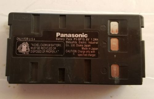 Panasonic PV-BP15 Battery OEM GENUINE ~ FREE SHIPPING