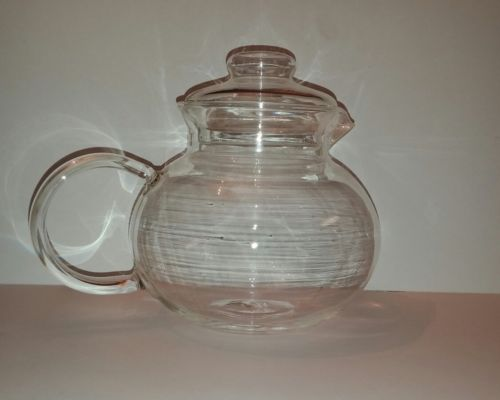 Primula Clear Glass Teapot With Lid