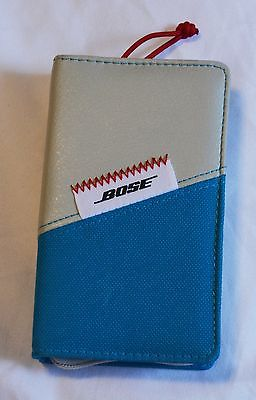 Bose FreeStyle Earbuds Carry Case for Headphones - Ice blue. Delivery is Free