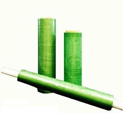 160 Rolls Green Tint Hand Stretch Wrap Half Pallet 12