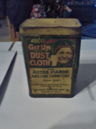 Asco Git Um Dust Cloth Tin Only