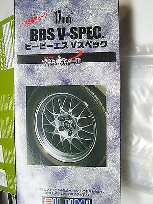Fujimi 1/24  17 inch BBS V-Spec Wheel & Tire Set  #2