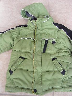 Winter Jacket WIND snow WATER resistant w fleece Children 4T L Protection System