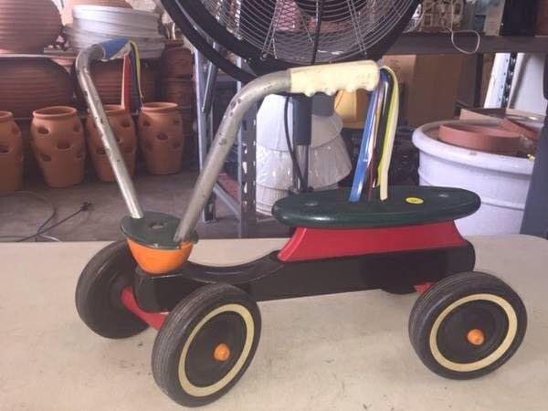 Vintage Bike Trike Scooter